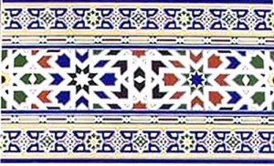 モロッコ タイル F