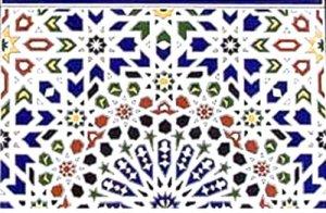 モロッコ タイル G