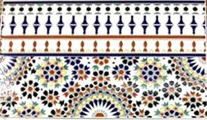モロッコ タイル K