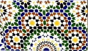 モロッコ タイル N