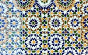モロッコ タイル V
