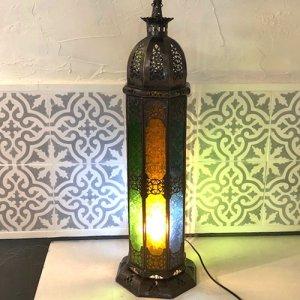 モロッコ ランプ  コラムL/ミックス