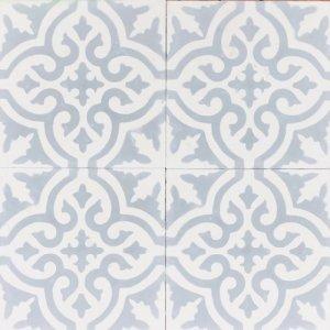 セメントタイル  マラケシュ/ホワイト