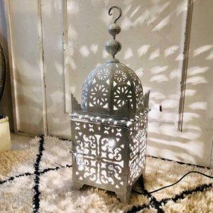 アイアンランプ  モスク/ホワイト