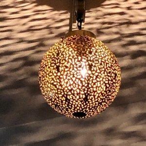 真鍮ランプ  アクダルS/ゴールド