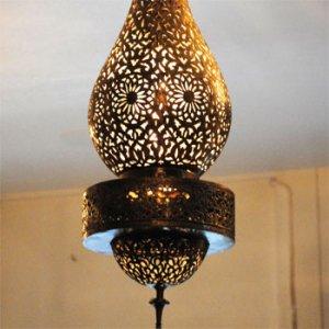 真鍮ランプ  メナラ/ゴールド