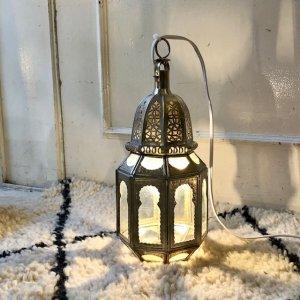 真鍮ランプ  ポワール/クリア