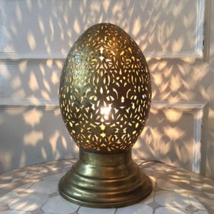 真鍮ランプ  クロッシュ/ゴールド