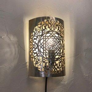 真鍮ブラケットランプ  マロニエ/シルバー