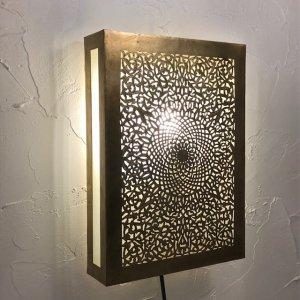 真鍮ブラケットランプ  パサージュ/ゴールド