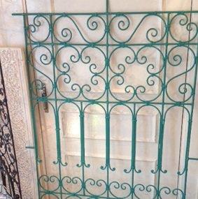 モロッコアイアン格子 typeB グリーン