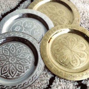 モロッコ 真鍮トレイ20