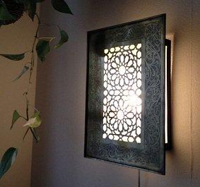 真鍮ブラケットランプ  パルテール/ゴールド