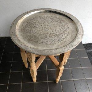 シルバートレイテーブル Φ60cm