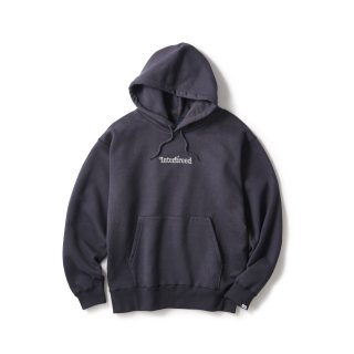 Archive Logo Pullover Hoodie / Navy