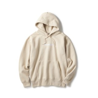 Archive Logo Pullover Hoodie / Sand