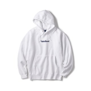 Archive Logo Pullover Hoodie / White