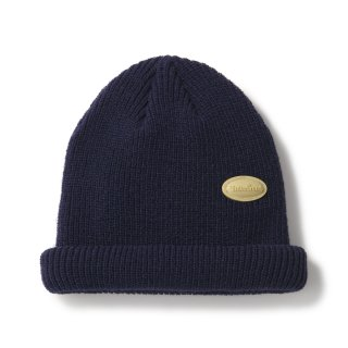 Bubble Patch Beanie / Navy