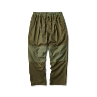 Mixed Chino Relax Trouser / Olive