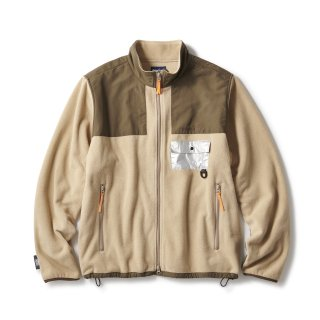 "WILD THINGS x INTERBREED""Polartec® Desert Jacket"" / Khaki"