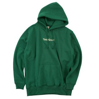 Archive Logo Pullover Hoodie / Forest Green