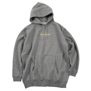 Archive Logo Pullover Hoodie / Heather Gray