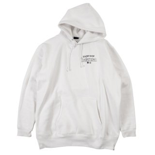"balansa X INTERBREED ""Compact Cassette Hoodie"" / White"