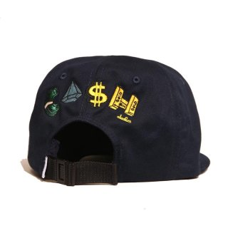"""Cleofus × INTERBREED """"PAYDAY Cap"""" / NAVY"""