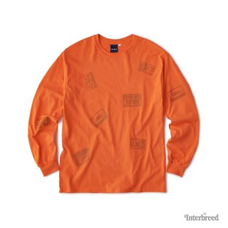 Oldies LS Tee / Orange