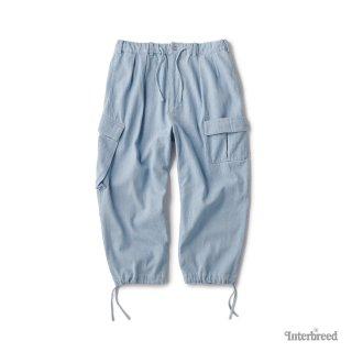 Indigo Farmer Pants / Ice Wash