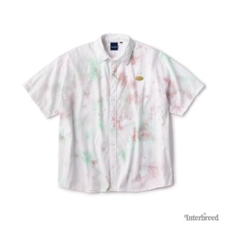Spring Tone Tie Dye Shirts / Brown