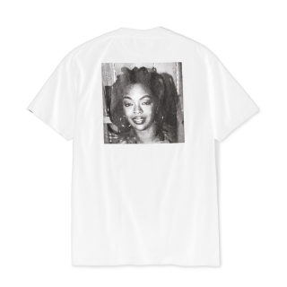 "Ernie Paniccioli for INTERBREED ""L.Boogie Off Shot SS Tee"" / White"