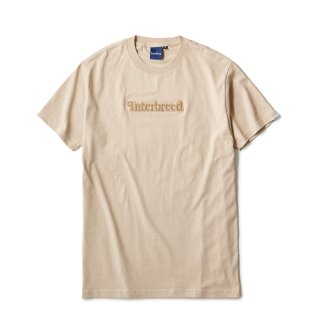 Pile Patched Logo SS Tee / Sand