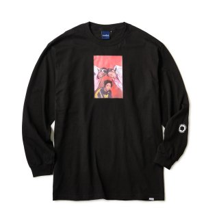 "Ernie Paniccioli for INTERBREED ""The Fugees '93 LS Tee"" / Black"