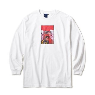 "Ernie Paniccioli for INTERBREED ""The Fugees '93 LS Tee"" / White"