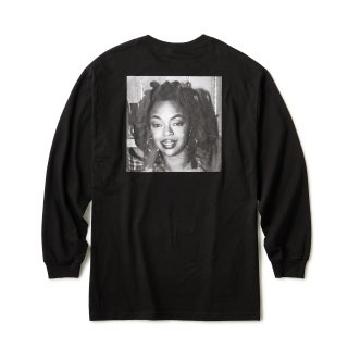 "Ernie Paniccioli for INTERBREED ""L.Boogie Off Shot LS Tee"" / Black"