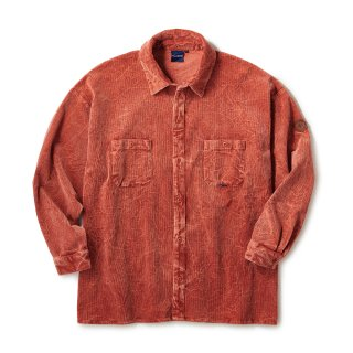 Cracked Corduroy Shirts / Brown