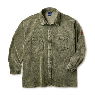 Cracked Corduroy Shirts / Olive