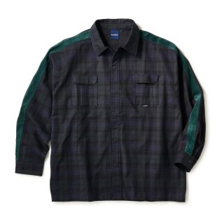Side Lined Plaid Shirts / Blackwatch