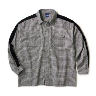 Side Lined Plaid Shirts / Glen plaid