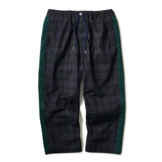 Side Lined Plaid Trouser / Blackwatch