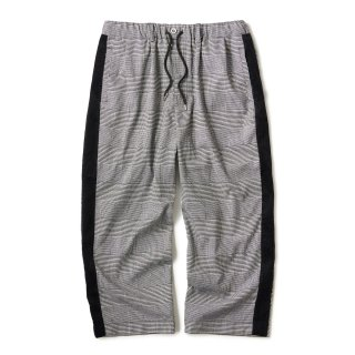 Side Lined Plaid Trouser / Glen plaid