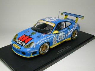 1/18 ポルシェ 911 GT3R デイトナ24時間 GTクラス優勝 2002 #66<br>