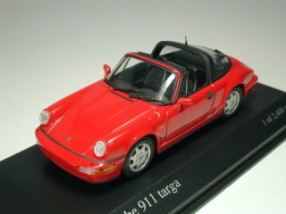 1/43 ポルシェ 911 タルガ  1991 レッド<br>