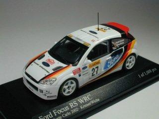 1/43 フォード フォーカス RS WRC ラリー・モンテカルロ 2002 #27 Kremer Wicha<br>