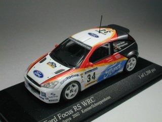 1/43 フォード フォーカス RS WRC ラリー・カタルニア 2002 #34 Kremer Schneppenheim<br>