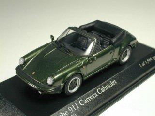 1/43 ポルシェ 911 カレラ カブリオレ 1983 グリーンメタリック<br>