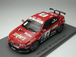 1/43 アルファ・ロメオ 156 ETCC 5位 2004 #2<br>
