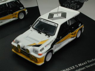 1/43 ルノー 5 MAXI TURBO 'Presentation Version'<br>
