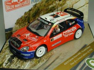 1/43 シトロエン クサラ WRC ラリー・モンテカルロ 2005 #1 S.Loeb D.Elena<br>